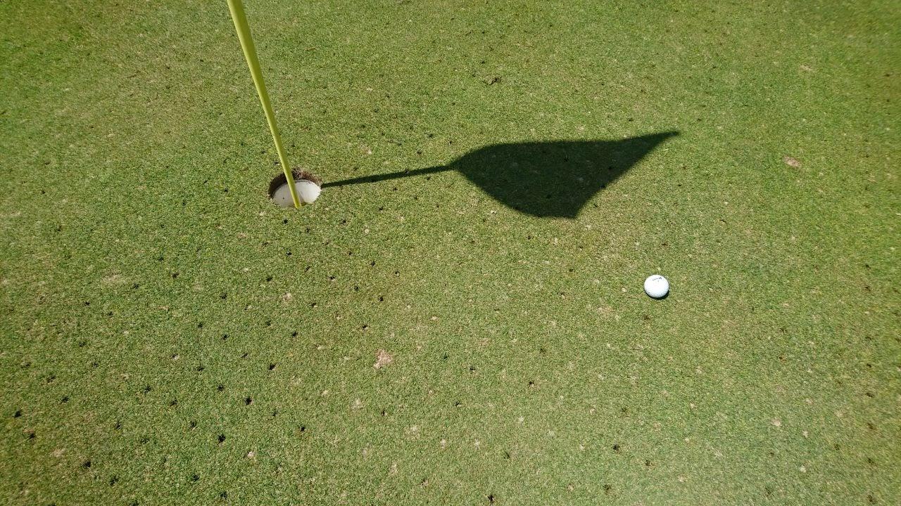 Ball Golfplatz